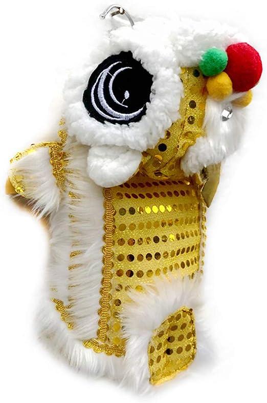 NINGYE - Disfraz de león para Mascota con Lentejuelas Rojas, año ...