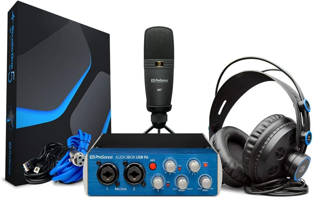 PreSonus『AudioBox 96 STUDIO Ultimate Bundle』