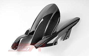 Kawasaki Z1000 (2010-2015) / Ninja 1000 (2011-2015) Carbon Fiber Rear Splash Guard Cover / Hugger / Mudguard Fairing with Integrated Chain Guard