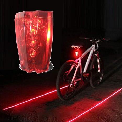 Odea - Luz Trasera LED de Seguridad Intermitente Recargable para Bicicleta: Amazon.es: Deportes y aire libre