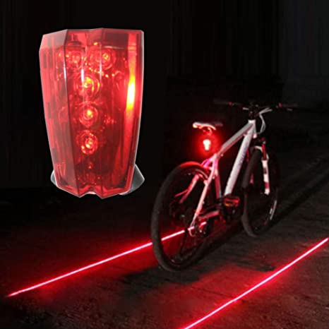 Odea - Luz Trasera LED de Seguridad Intermitente Recargable para ...