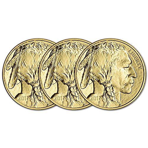 3 Buffalo Coins - 3