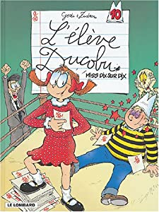 """Afficher """"L'élève Ducobu n° 10 Miss dix sur dix"""""""