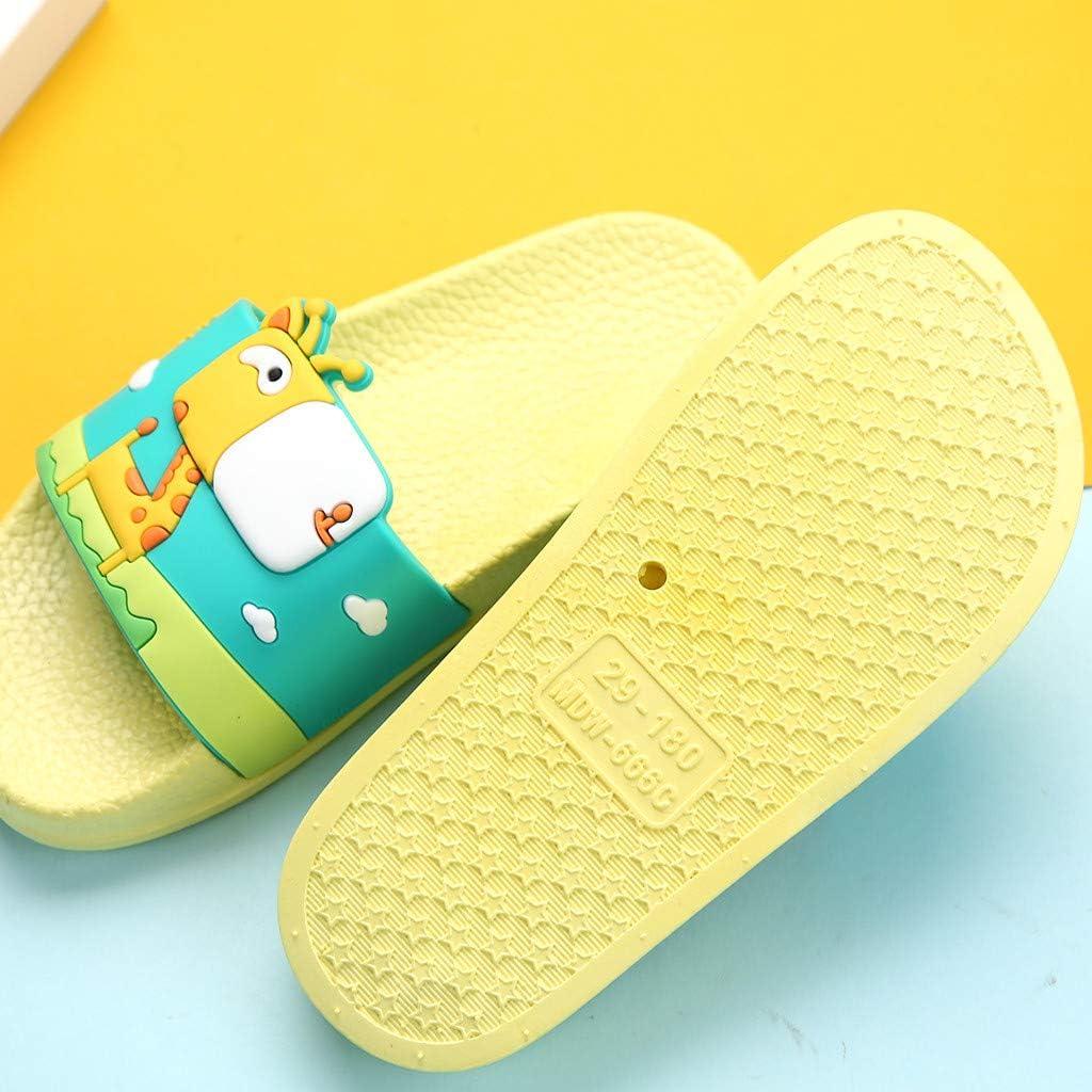 Mules Enfants Respirant Chaussures De Jardin De Plage D/ÉT/é Pantoufle De Maison Chaussons DInt/éRieur Ext/éRieur Piscine Sandales Plates