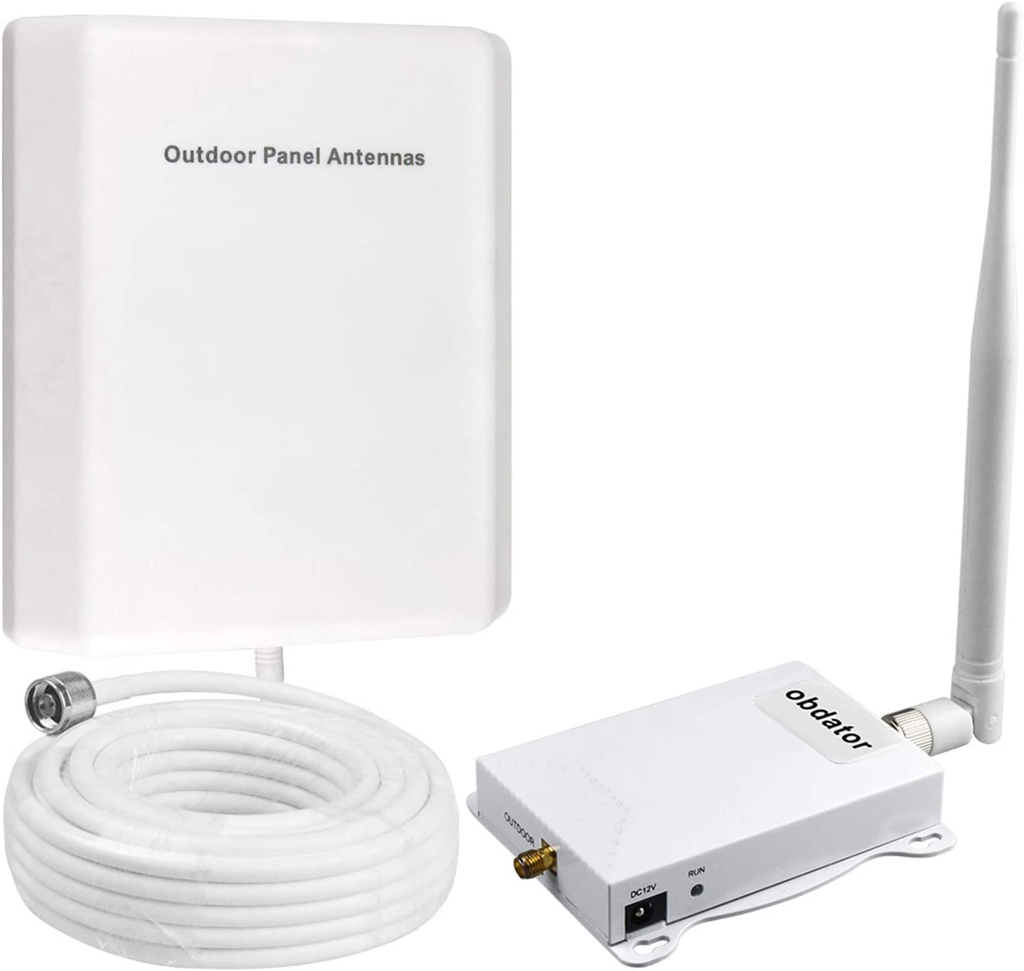 Cell Phone Signal Booster AT&T 4G LTE Cell Signal Booster FDD 700Mhz ATT T-Mobile Cell Phone Booster Band 12/17 High Gain 65dB Home Mobile Phone Signal Booster Repeater