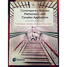 Contemporary Business Mathematics with Canadian Applications (11th Edition)