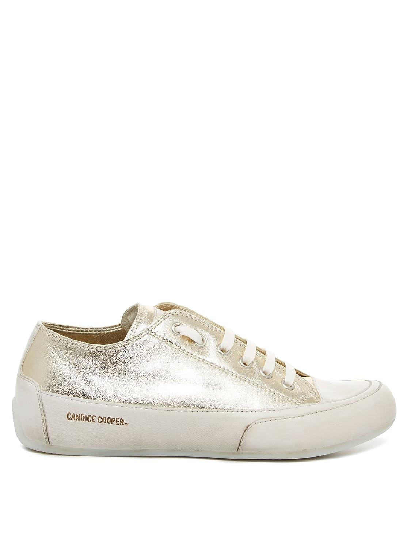 Candice Cooper Rock 01 Laminato Damen Sneaker 41 gold  Amazon.de  Schuhe    Handtaschen dc01df78ea