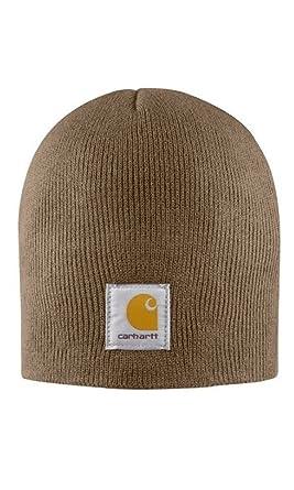 Carhartt A205 Acrylic Knit Beanie Cap Canyon Brown Mens Wool Hat  CHA205CBR-Universal d3648103eac