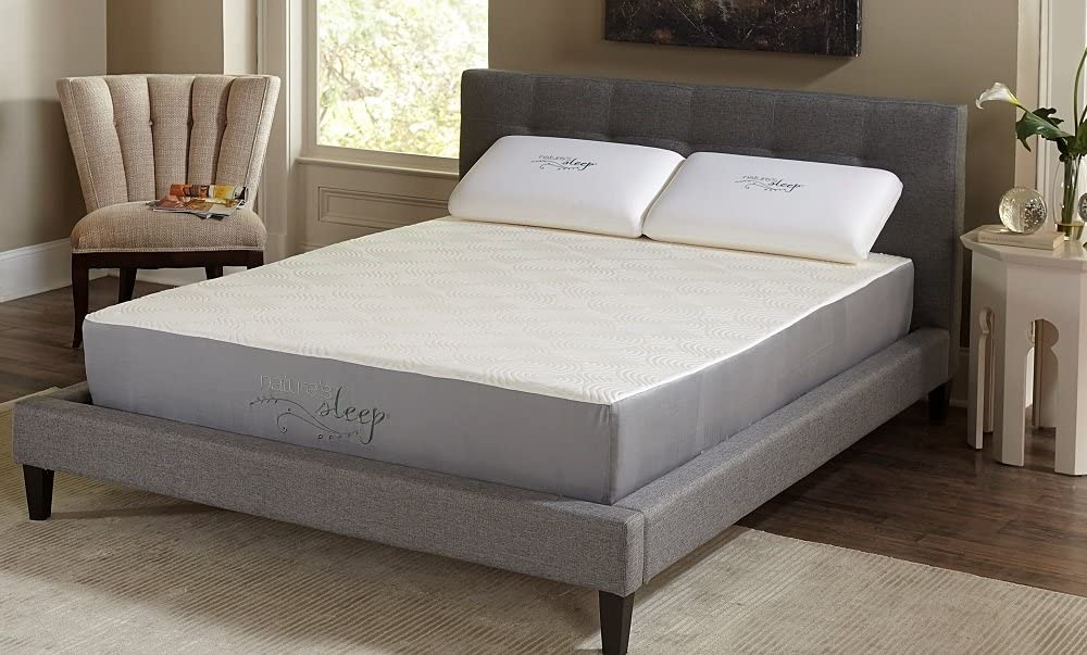 "Nature's Sleep 10"" Visco Memory Foam Mattress, King"