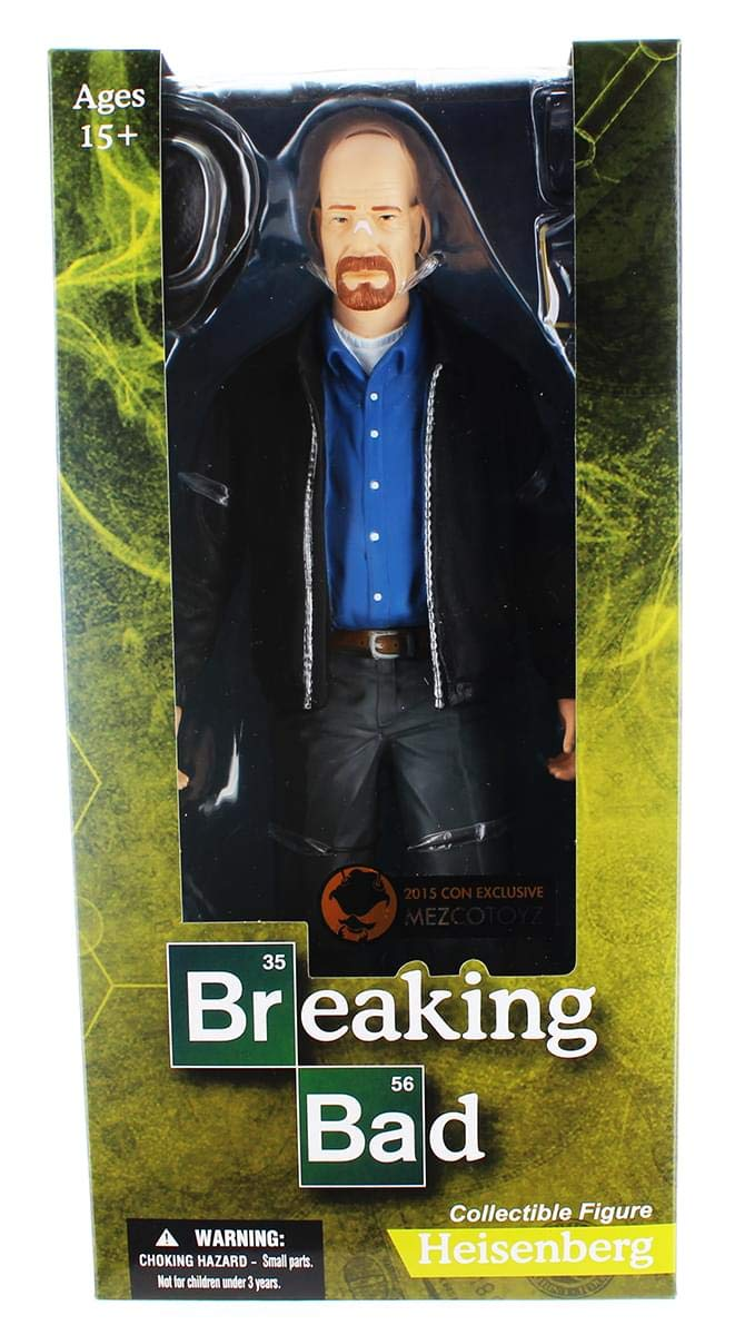 Breaking Bad Figura Heisenberg 30 cm Mezco Toys Action ...