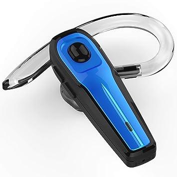 Auriculares Inalámbricos Auricular Bluetooth Manos Libres Bluetooth Auriculares Mono Headset con micrófono para negocios/trukers/conductor par con Android ...