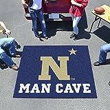 "Fan Mats U.S. Naval Academy Man Cave Tailgater Rug 60""X72"""