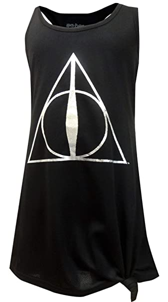 9f1061b5 Amazon.com: HARRY POTTER Girls' Big Deathly Hallows Hermione' Pajama  Nightgown: Clothing