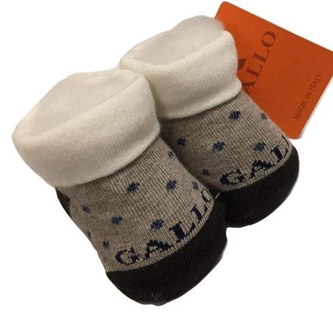 Gallo - Calcetines - para bebé niño Beige Beige Blu Bianco Talla única