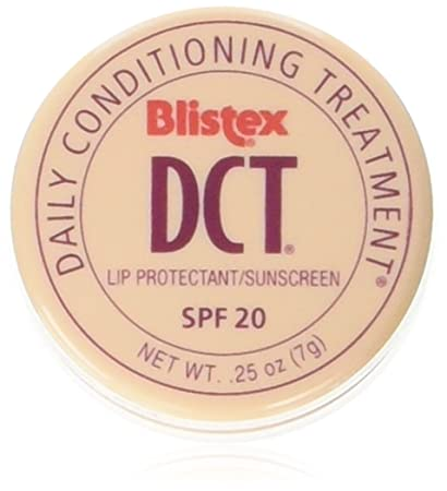 Blistex DCT Daily Conditioning Treatment SPF 20 0.25oz (Pack of 2) Titanium Micro Needle Roller Derma Anti Acne Scars Stretch Marks Age Spots 1.0mm
