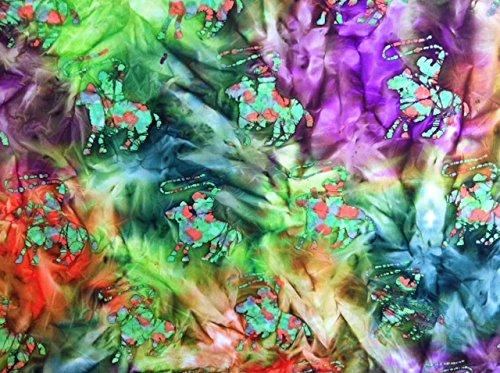 Horse Batik Fabric - 3