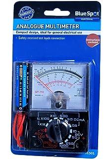 Voltmeter MF-110A Amperemeter Pr/üfger/ät analog Multimeter Cuigu Mini-Multimeter digital AC//DC