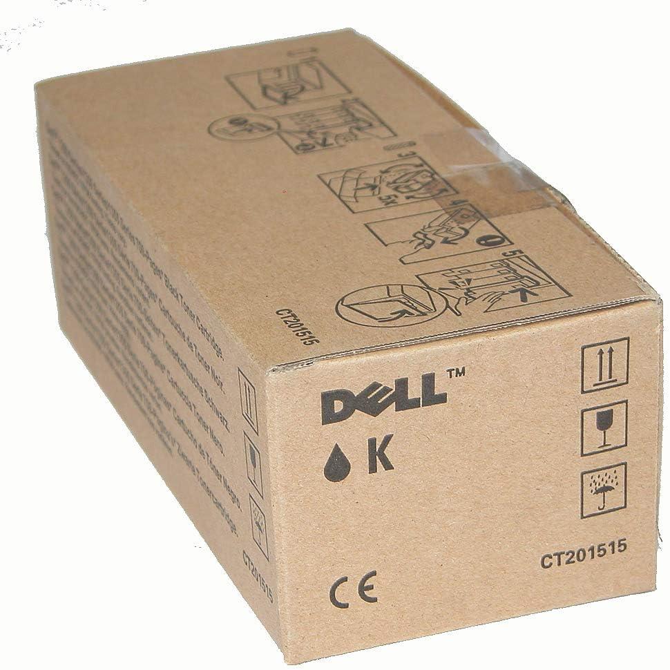Dell 4R4G5 1250 1350 1355 C1760 C1765 Toner Cartridge (Black) in Retail Packaging