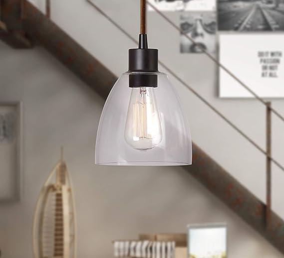 Amazon.com: Edison 1 Luz Mini colgante, 92100ORB, 60.00 ...