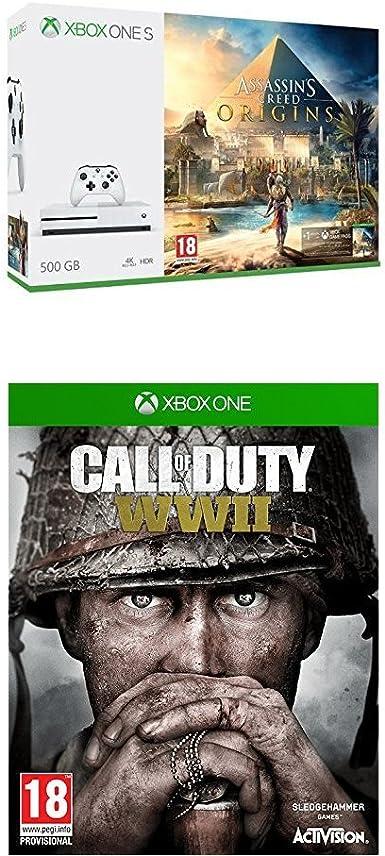 Xbox One S - Consola 500 GB Assassins Creed Origins + Call of ...