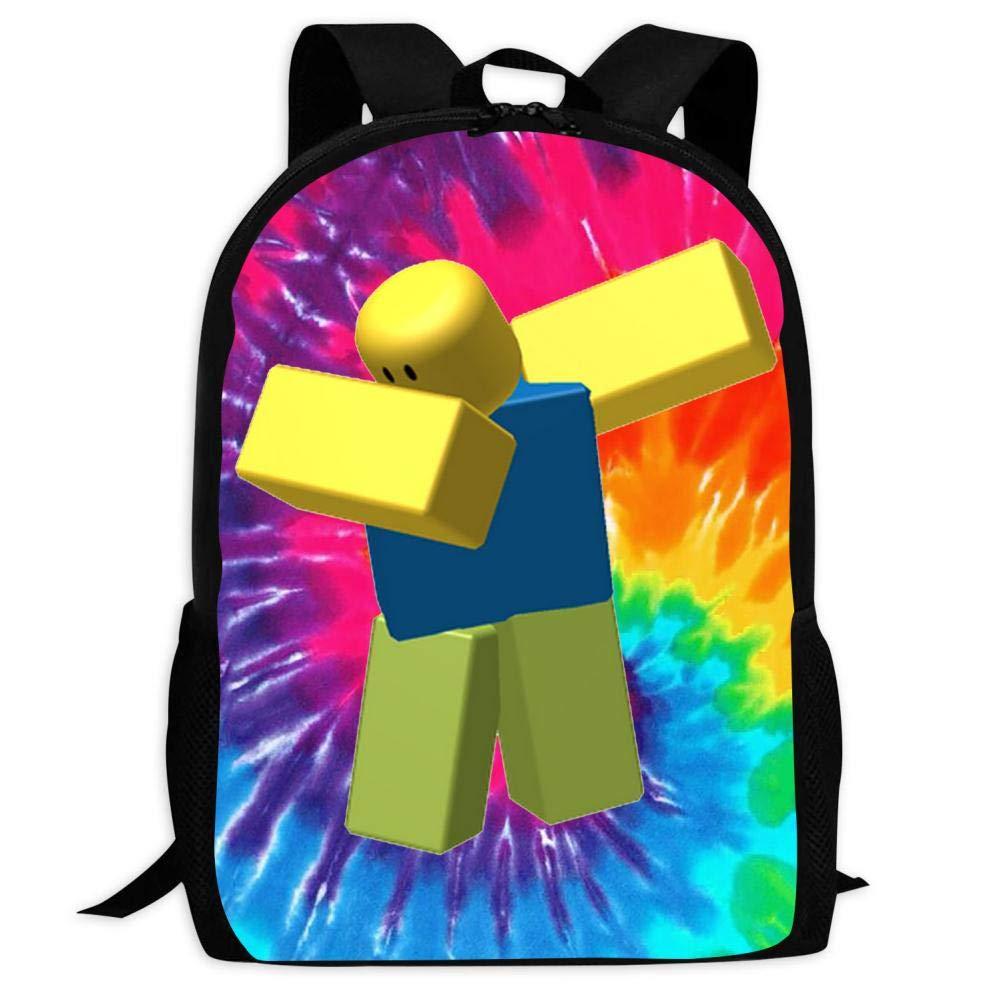 BUZAILIANX-22 Dabbing Roblox 3D Print Backpacks Children Shoulder Bag Rucksack Back to School by BUZAILIANX-22