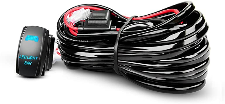 [SCHEMATICS_48YU]  Amazon.com: Nilight LED Light Bar Wiring Harness Kit 12AWG Heavy Duty 12V  5Pin Rocker Switch Laser On off Waterproof Switch Power Relay Blade Fuse-1  Lead,2 Years Warranty: Automotive | Led Light Bar Wiring Harness And Switch Kit |  | Amazon.com