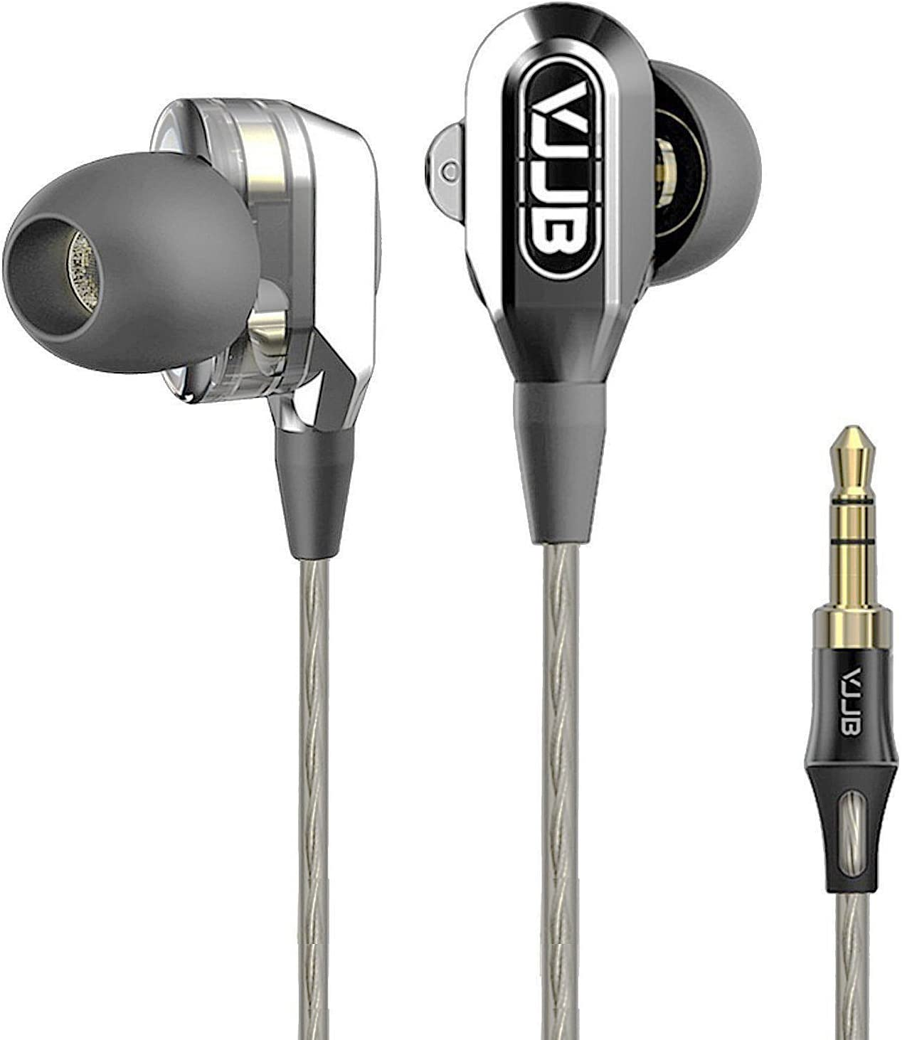 Granvela Dual Driver Earbuds for Music