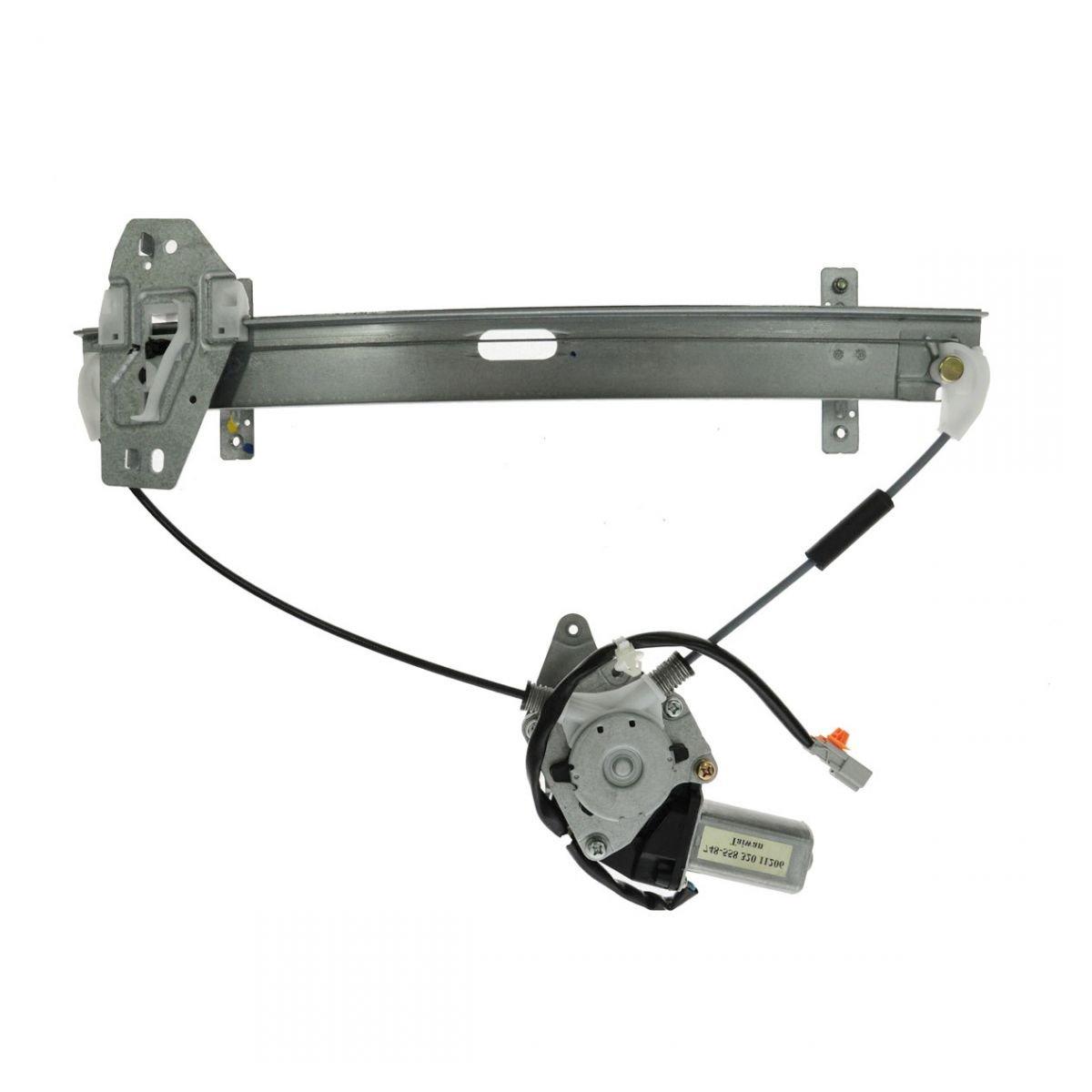 Rear Power Window Regulator w/Motor Passenger Side Right RH for 01-06 Acura MDX AM Autoparts