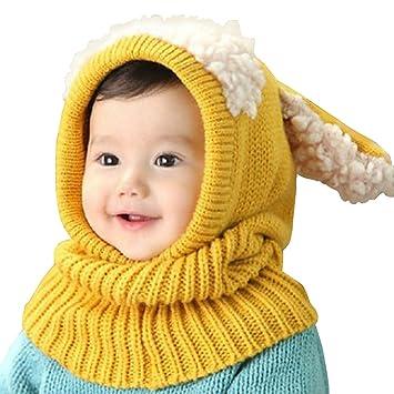 Winter Baby Scarf Hat e29bda85151