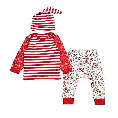 259624b209a Amazon.com  Christmas Jumpsuit Outfits Set