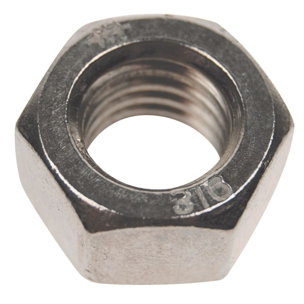 3 8 16 Tpi Stainless Steel Hex Nut Left Hand Threads Amazon Com Industrial Scientific