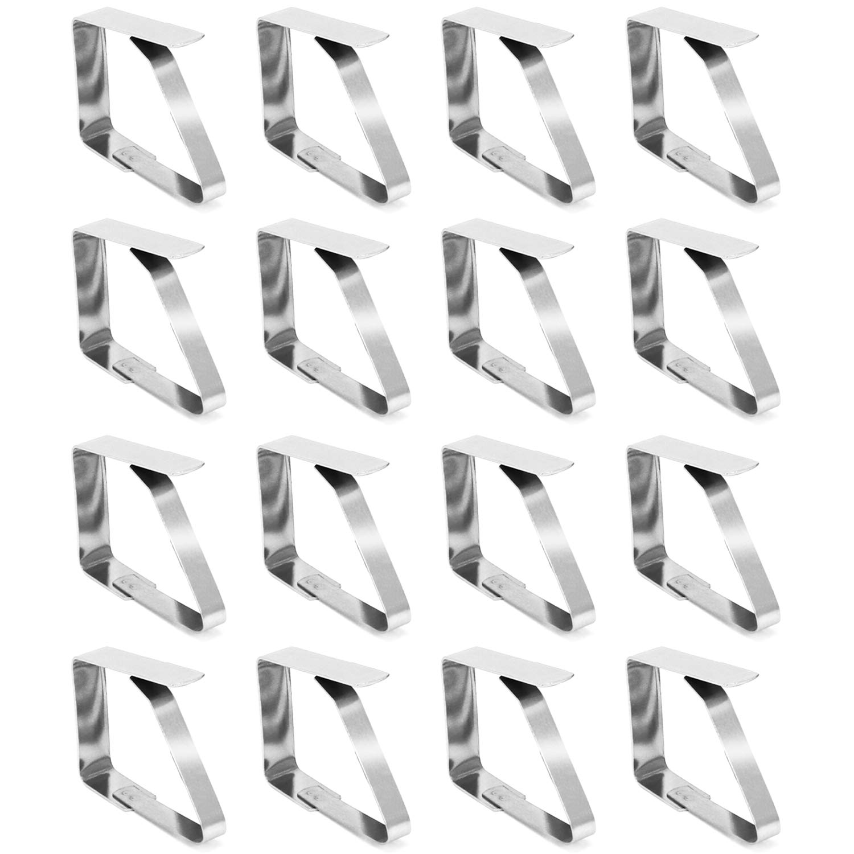 COM-FOUR® 16xMolla fermatovaglia, in acciaio inox COM-FOUR®