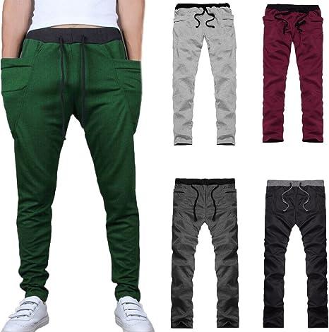 Pantalones de hombre Persona que practica jogging Chandal ...