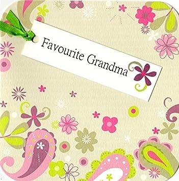 Favourite Grandma Hand Finished Tag Tastic Birthday Card Greeting Yasmin Cards