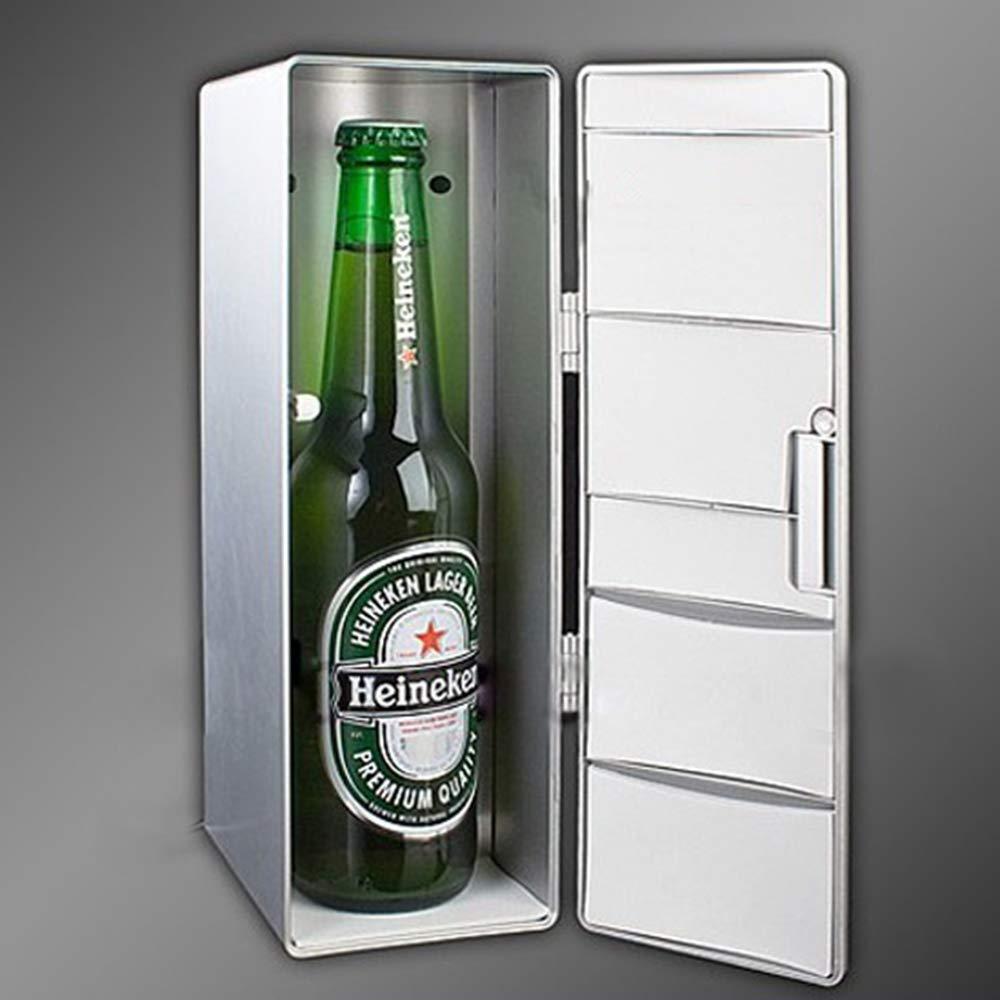 ZGNB Portátil Mini USB Nevera Bebida Cerveza Bebida latas ...
