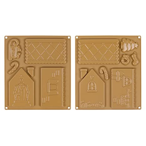 Molde de silicona la casa de jengibre hombre de Jengibre galletas/para galletas/Cooky