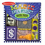 Melissa & Doug Magic in a Snap! Hocus Pocus Collection Magic Tricks Set (Professional Caliber Tricks With Easy Instructions, 12 Pieces)