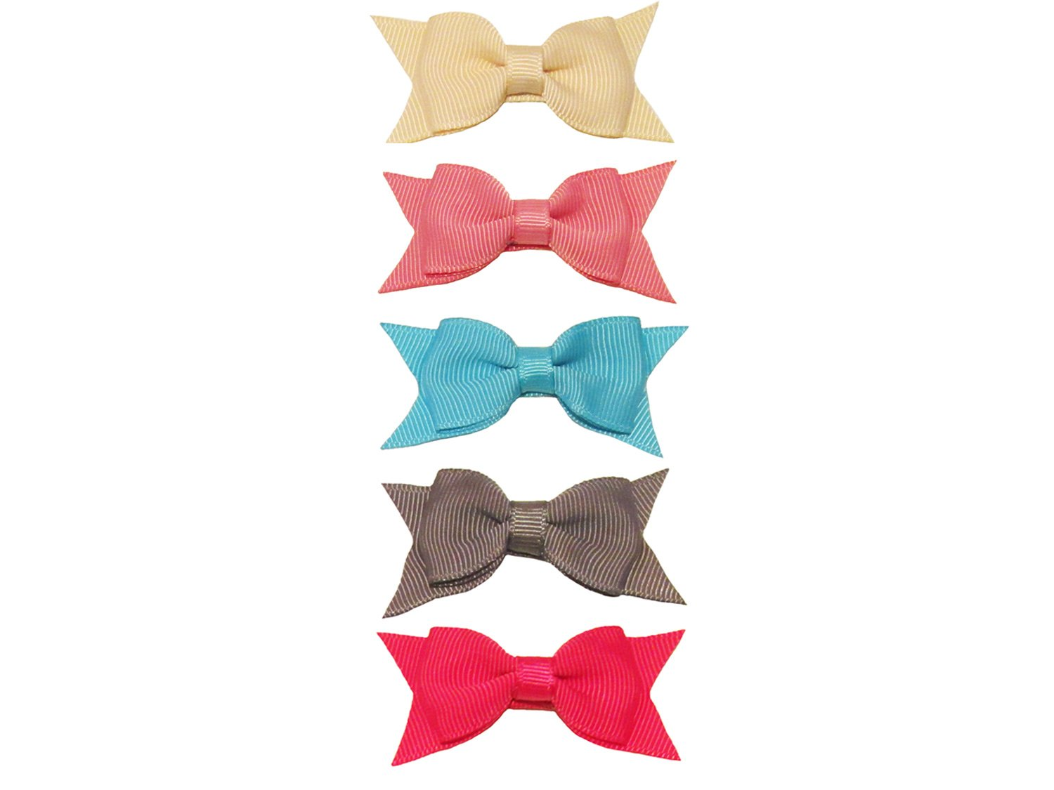 3f456fefe2cd Baby Wisp 5 Cadeau Hair Bows Baby Girls Toddlers Hair Clips - Under The Sea  Gift Set  Amazon.co.uk  Baby