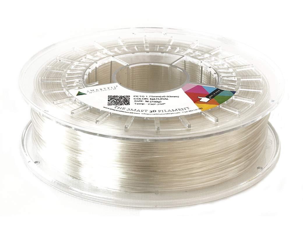 Smartfil, SMPET0WH0A075, Copolyester aus Polyethylenterephthalat-Extrusion Glykol, 1.75 mm, 750 g, weiß