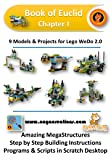 Book of Euclid Chapter I: 9 Models & Projects for Lego WeDo 2.0 (English Edition)