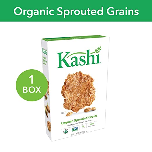 The Kashi Organic Promise® Sprouted Grains Cereal travel product recommended by Jenna Appel on Pretty Progressive.