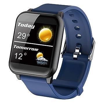 ZLLZ Smart Bracelet Watch - Medidor de la presión Arterial y la ...