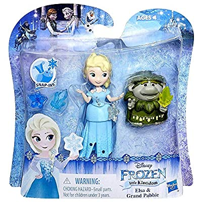Disney Frozen Little Kingdom Elsa and Grand Pabbie: Toys & Games