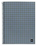 """Miquelrius Spiral Notebook, 4 Subjects, College Ruled, 120 Sheets/240 Pages, A5 6.5"""" x"""