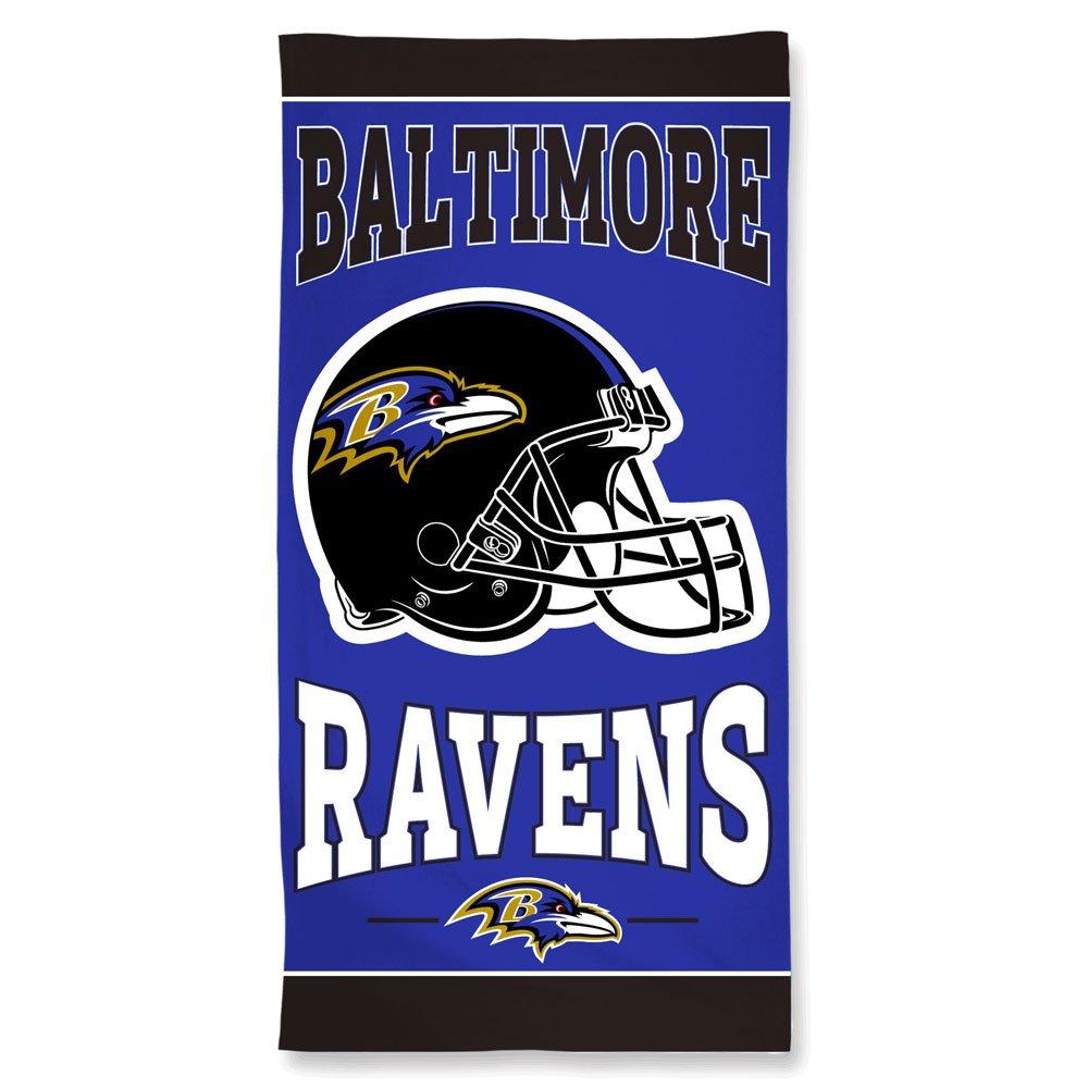 WinCraft Baltimore Ravens Beach Towel