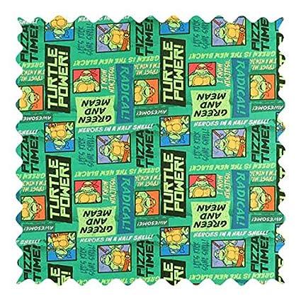 SheetWorld Ninja Turtles Fabric - By The Yard