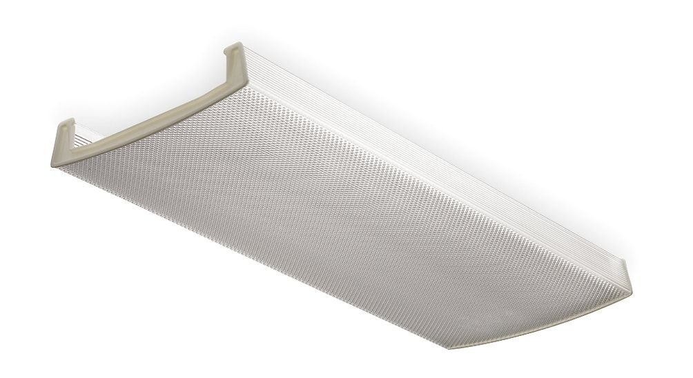 amazon com lithonia lighting dlb48 acrylic diffuser for 2 light lb