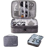BeiLan Electrónico Organizador de Cable Accesorios Electrónicos Portable Bolsa de para Cables