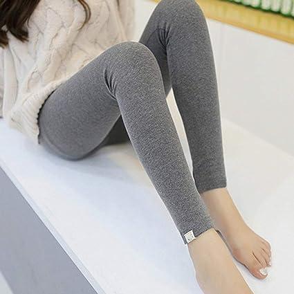 Pantalones Largos de Mujer de Alta Elasticidad Medias de Mujer Embarazada de Moda Pantalones de Fitness