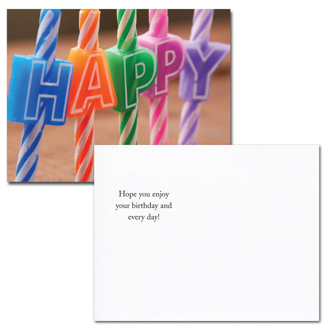 POSTCARDS:Birthday Assortment II, box of 60: 12 each of 5 designs Made in USA by CroninCards No Envelopes by CroninCards (Image #5)